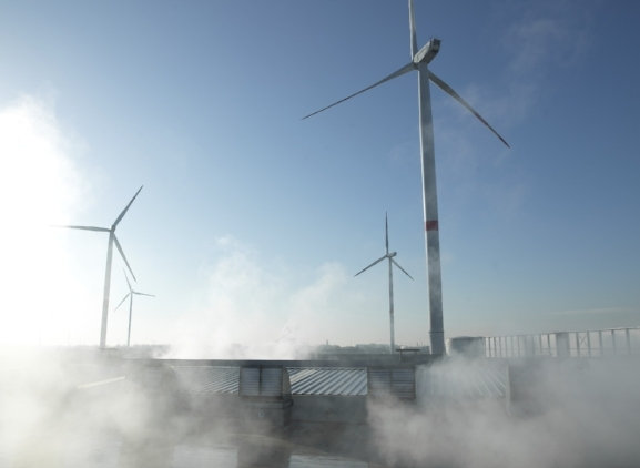 Windmills Roeselare | Composting facility Sterckx